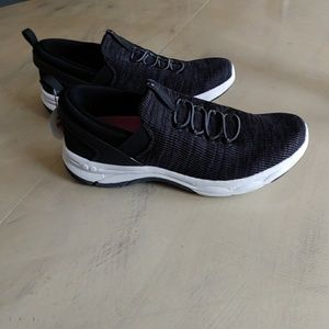 Women's black Ryka slip on sneaker